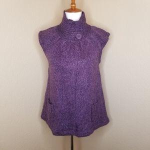 Purple Knit Vest